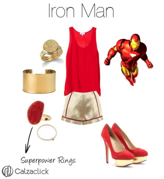 Ironman outfit calzaclick
