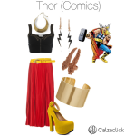 Thor outfit calzaclick