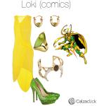 Loki outfit calzaclick