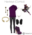 Hawkeye outfit calzaclick